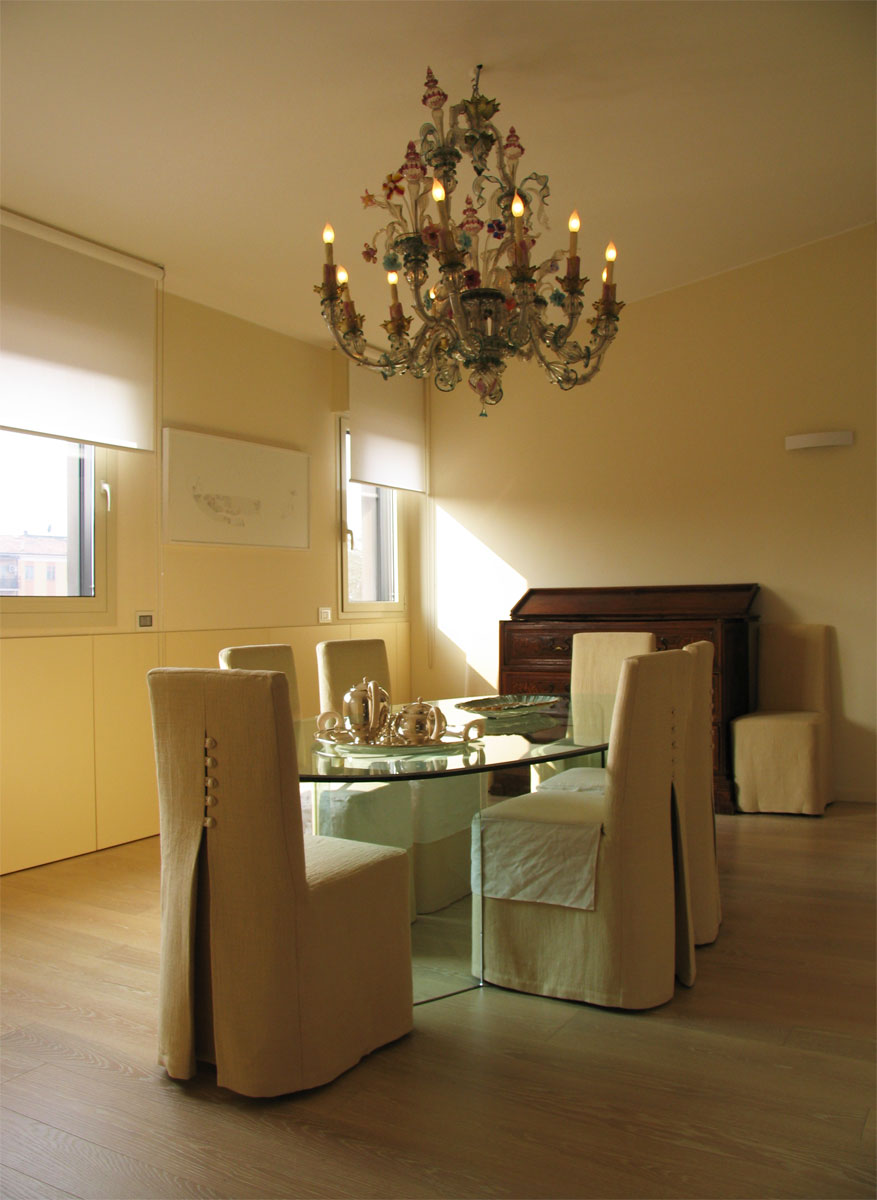 Iablu casa avorio - Lampadario sala da pranzo ...